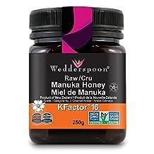 Wedderspoon 100% Raw Manuka Honey KFactor 16, 250 Grams