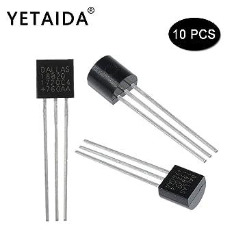 Amazon.com: YETAIDA - Termómetro digital Dallas 18B20 ...