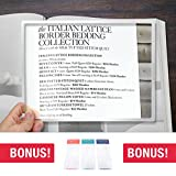 MagniPros 2X Large Full Page Magnifier Magnifying Rigid Acrylic Sheet with Bonus Bookmark Magnifier- Magnifies Entire Page
