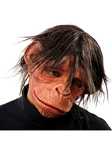 ZAGONE Hey Hey Here is a Monkey Full Mask w/ Hair