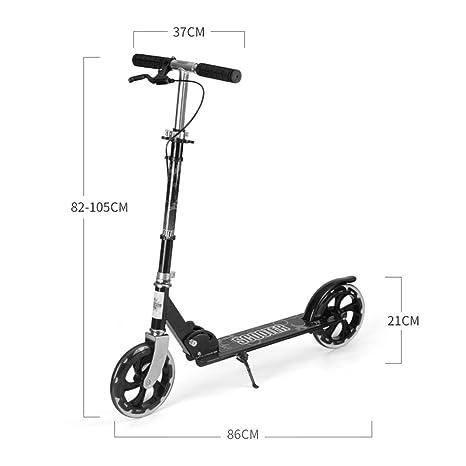 Patinetes de tres ruedas Scooters De Seguridad Naranja para ...