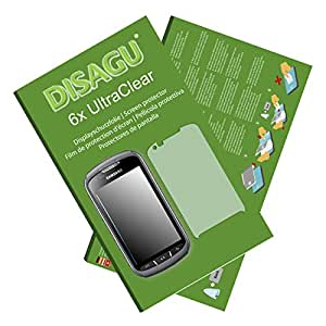 6x Ultra Clear Screen Protector for Samsung S7710 Galaxy Xcover 2