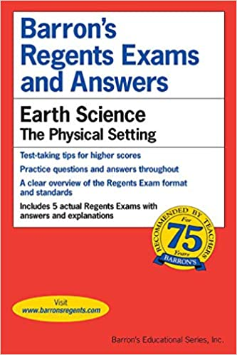 Amazon com: Regents Exams and Answers: Earth Science