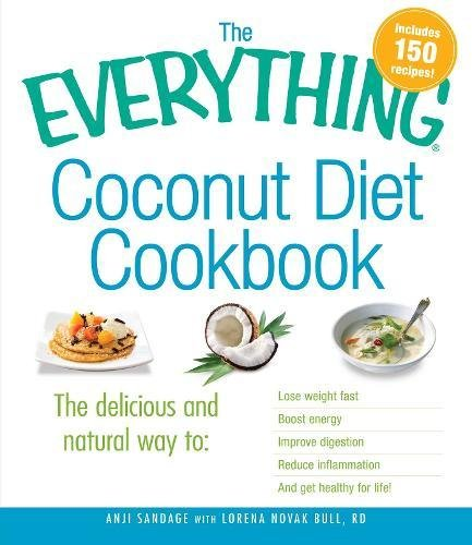 Everything Coconut Diet Cookbook inflammation product image