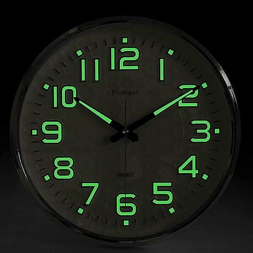 Glow In The Dark Clock Amazon Com