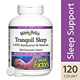 Natural Factors, Stress Relax Tranquil Sleep, 120 Tablets