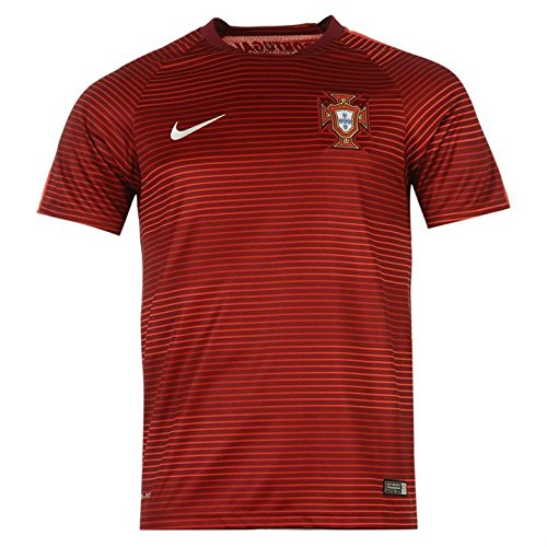 Nike Portugal Pre-Match Training II Soccer Jersey (Red) (Pre Match)