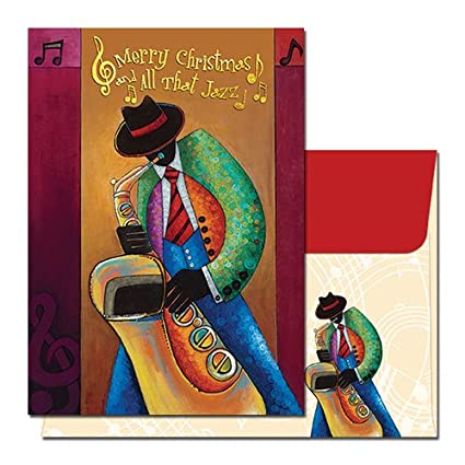Amazon Com All That Jazz African American Christmas Card Box Set