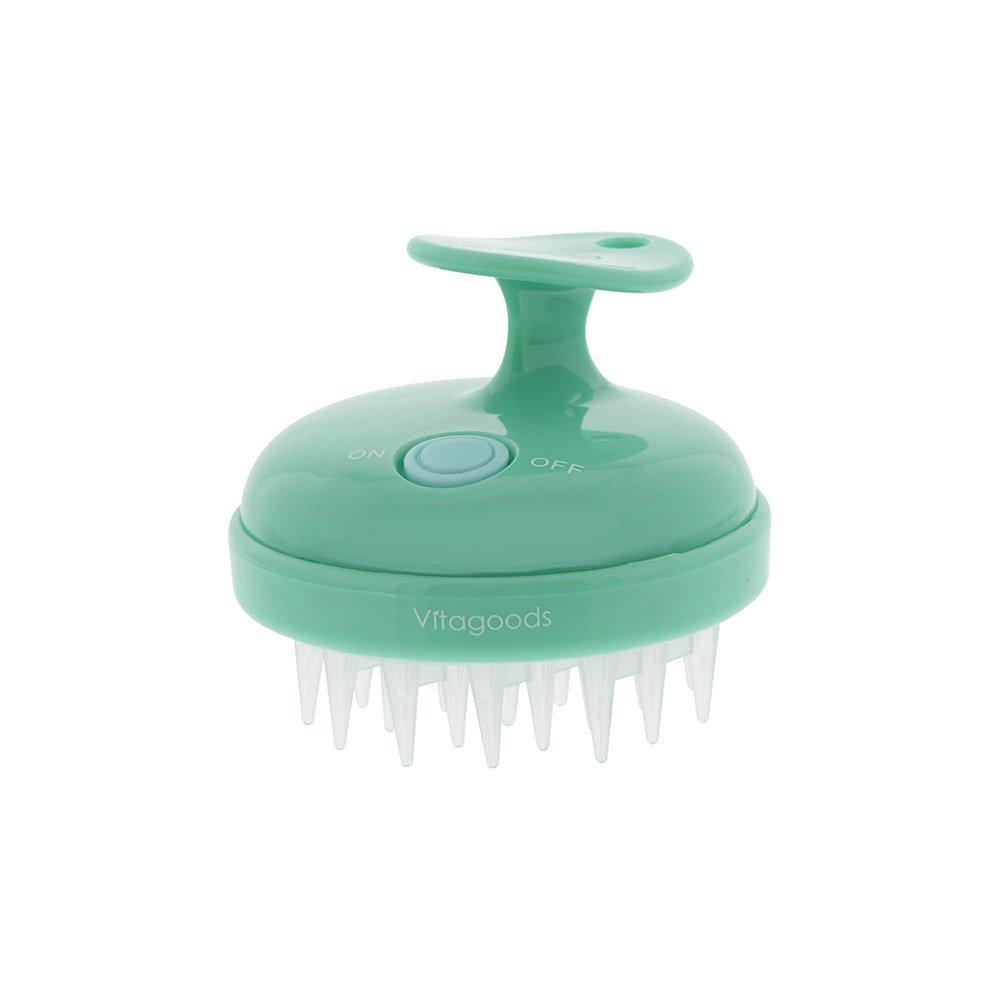 Vitagoods Scalp Massaging Shampoo Brush, Lucite Green