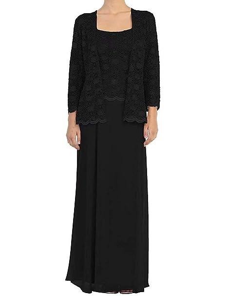Amazon.com: RONGKIM - Vestido largo de gasa para mujer con ...