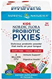 Nordic Naturals Kids Probiotic Pixies - Probiotic Powder for Children's Digestive Health, Sugar-Free, Vegetarian, Vegan - 30 Count, Berry