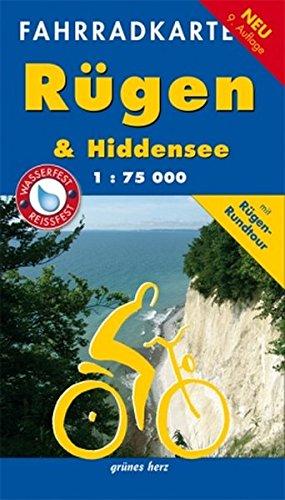 Fahrradkarte Rügen & Hiddensee: Mit Rügen-Rundtour. Wasser- und reißfest. (Fahrradkarten) Landkarte – Folded Map, 29. Mai 2015 Lutz Gebhardt grünes herz 3866361831 Hiddensee / Reiseführer