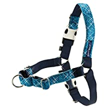 PetSafe Bling Easy Walk Harness, Medium/Large, Blue