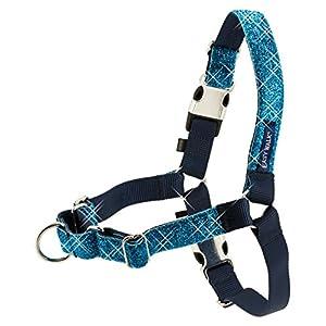 PetSafe Bling Easy Walk Harness, Medium/Large, Blue