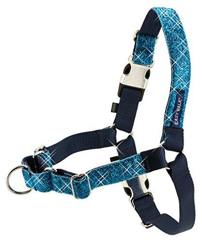 PetSafe Bling Easy Walk Harness, Medium, Blue by PetSafe