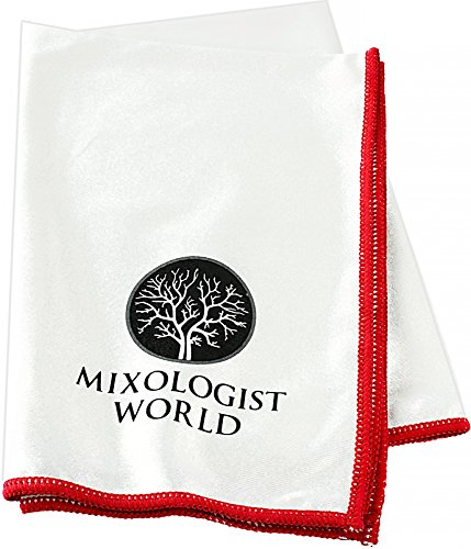 Mixologist World Polishing Cloth - Premium Microfiber Cleani