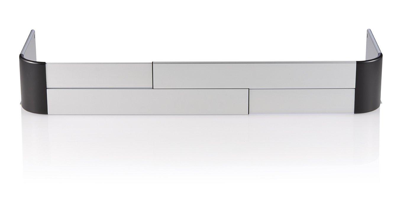 Reer Barrera de protección para estufa horno cocina Nómada protección protección, Gray 20015