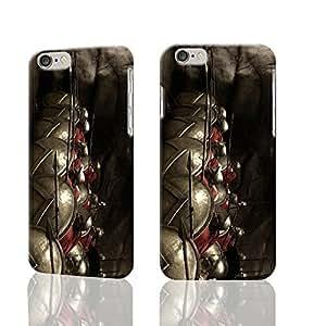 300 Spartan warriors Custom Diy Unique Image Durable 3D Case Iphone 6 Plus - 5.5