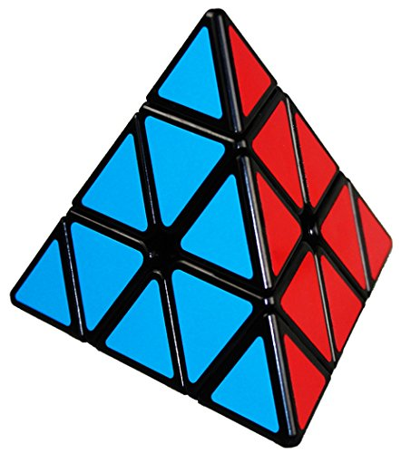 QIYI Pyramid Speed Cube Triangle Magic Cuble Puzzle Toy (QI