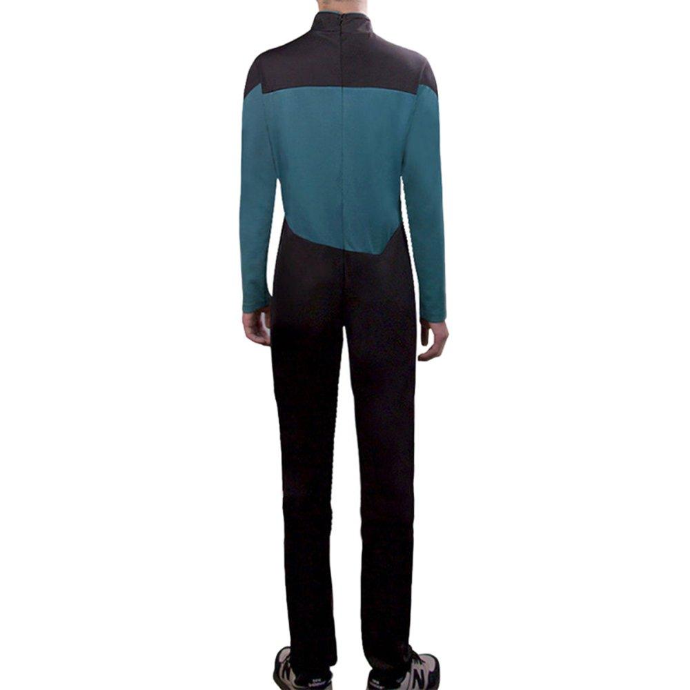 nihiug Star Trek Star TrekTNG Cosplay De Próxima Generación Mono ...