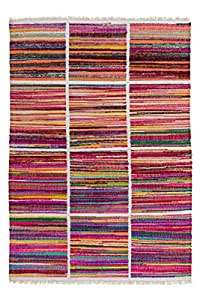 Babylon Alfombra moderna 120cm x 170cm arco iris 100% poliéster