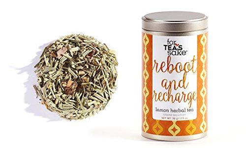 Lemon Recharge (Reboot and Recharge Lemon Herb & Fruit Tea)