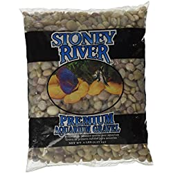 Stoney River Jumbo Gems Natural for Freshwater Aquariums, 5-Pound Bag