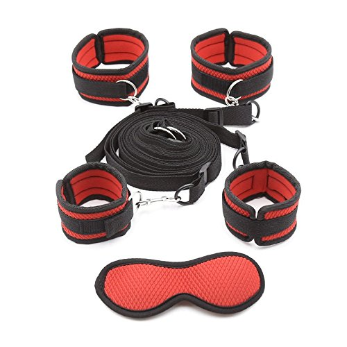 TWOs Rope set in bed and eyes shield accessories by TWOs