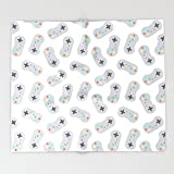 Society6 Games Are Life Throw Blankets 88'' x 104'' Blanket