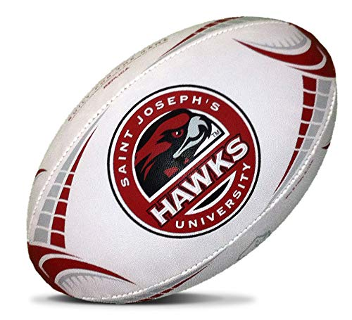 Rhino Rugby Saint Joseph's Full Size Rugby Ball - Home Usa Rugby Jersey