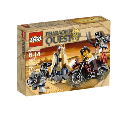 LEGO Pharaoh's Quest Golden Staff Guardians (Guarded Brick Set)