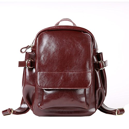Dissa Q0890 Damen Leder Handtaschen Satchel Tote Taschen Schultertaschen Kaffee a5dOeCE5