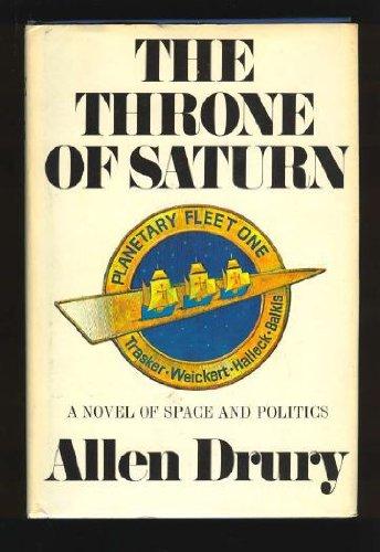 The Throne Of Saturn by Allen Drury