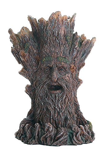 (Whispering Forest Mystic Greenman Tree Spirit Backflow Incense Holder)