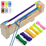 ezzzy jig bracelet maker - Zacro Jig Bracelet Maker with Parachute Cord, Wristband Maker - Pack of 6 Parachute Cords and Pack of 6 Buckles - Paracord Braiding Weaving DIY Craft Tool Kit - Heavy Duty Buckles