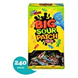 240 Count Bulk SOUR PATCH KIDS Sweet and Sour Candy, Individually Wrapped Packs