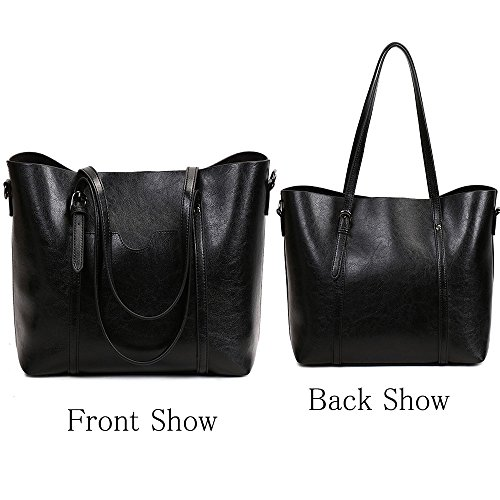Crossbody All Purse FiveloveTwo Satchel Hobo Top Clutch Handbags Shopper Shoulder match for Handle Tote Black Bags Ladies Women Bags xYYwq5RZn