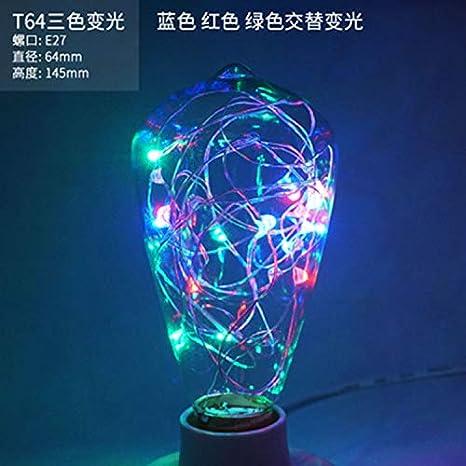 Downlights Led Bombilla Super Brillante Ahorro de Energía Creativo Retro Tungsteno Decorativo Fuente de Luz E27 Gran Tornillo Led Bombilla, ...
