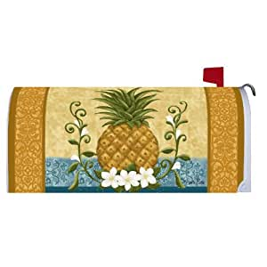 Custom Decor Magnetic Mailbox Cover Colonial Pineapple