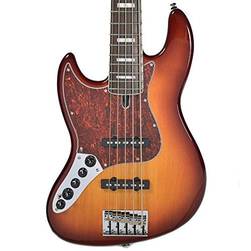 5 String Bass Tobacco Sunburst (Sire Marcus Miller V7 Alder 5 String Bass Tobacco Sunburst LEFTY)