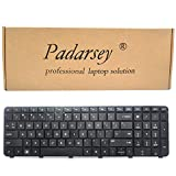 Padarsey Replacement Keyboard for HP Pavilion DV7-6100 DV7-6000 DV7-6200 DV7t-6C00 DV7-6C DV7t-6000 DV7-6C95DX DV7-6B series Black US Layout