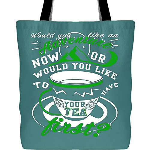 - I'm A Tea Lover Tote Bags, Have Your Tea First Canvas Tote Bags (Tote Bags - Green Pistachio)