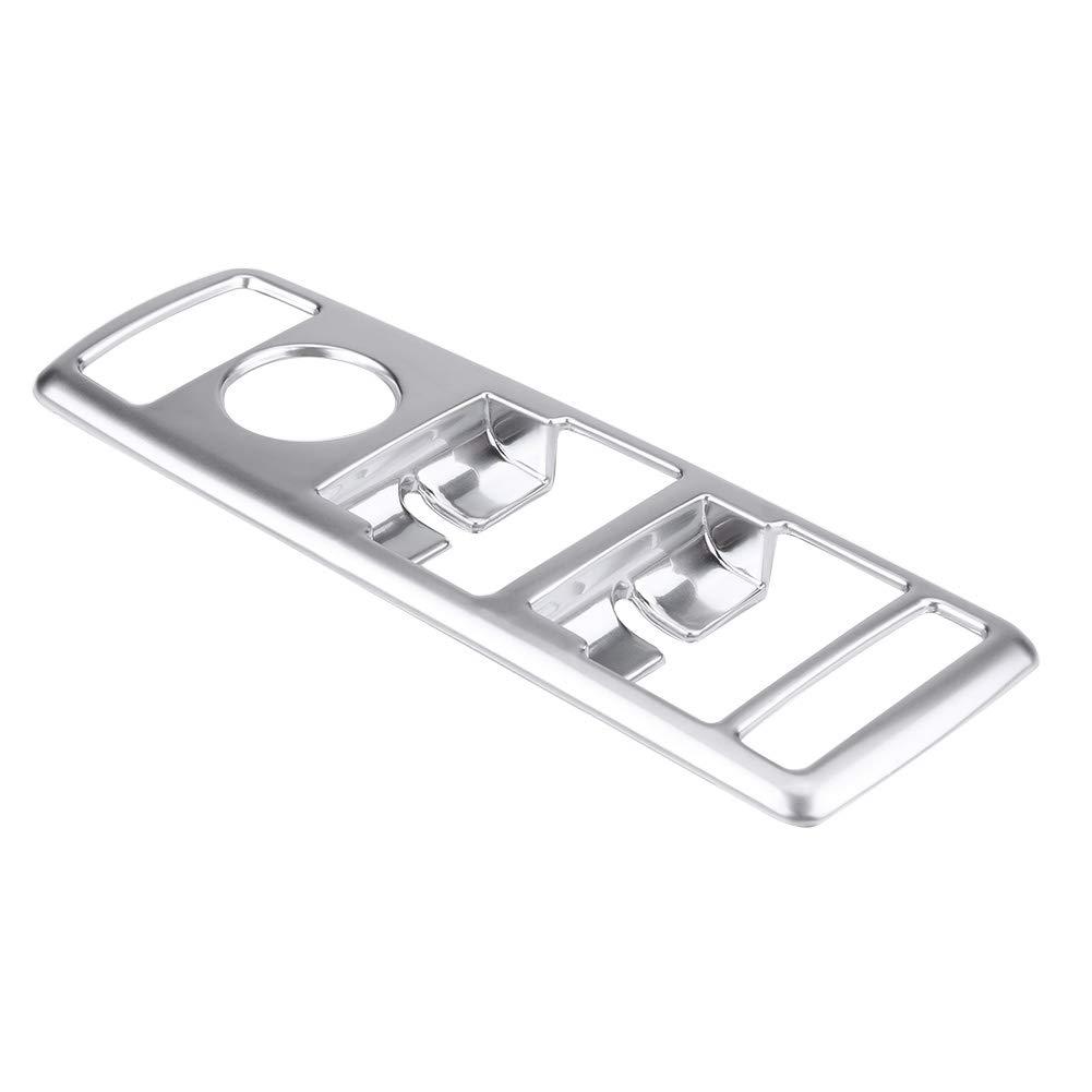 KIMISS 5pcs Fen/être de Voiture Ascenseur Bouton Couverture Garniture Cadre D/écoration Chrome Pour GLA
