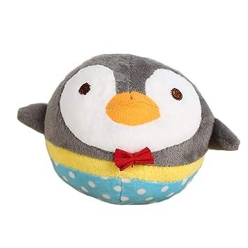 Emorias 1 Pcs Juguetes de Perros Pinguino Masticar Rascador para Gatos Mordida Dientes Mascotas Entrenamiento Accesorios: Amazon.es: Jardín