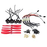 Propeller Power Combo for FPV 250 Quadcopter, with Speed Controllers and Motors
