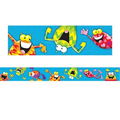 (TREND enterprises, Inc. T-85088BN Frog-Tastic! Bolder Borders, 35.75' Per Pack, 6 Packs)