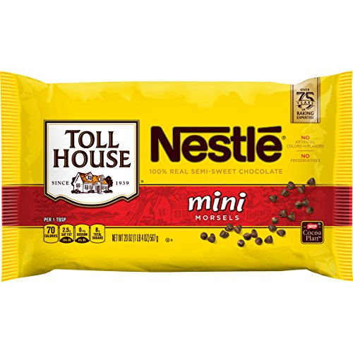 Nestle Toll House Semi-Sweet Chocolate Mini Morsels, 20 oz by Toll House