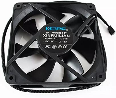 1200 rpm For XSPC RDL1225S 120//140mm 1200//1650RPM Computer Cooling Cooling Fan
