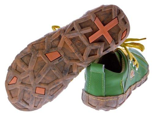 Chaussures Vert Ville À Femme De Tma Lacets Pour AaqUp44dw