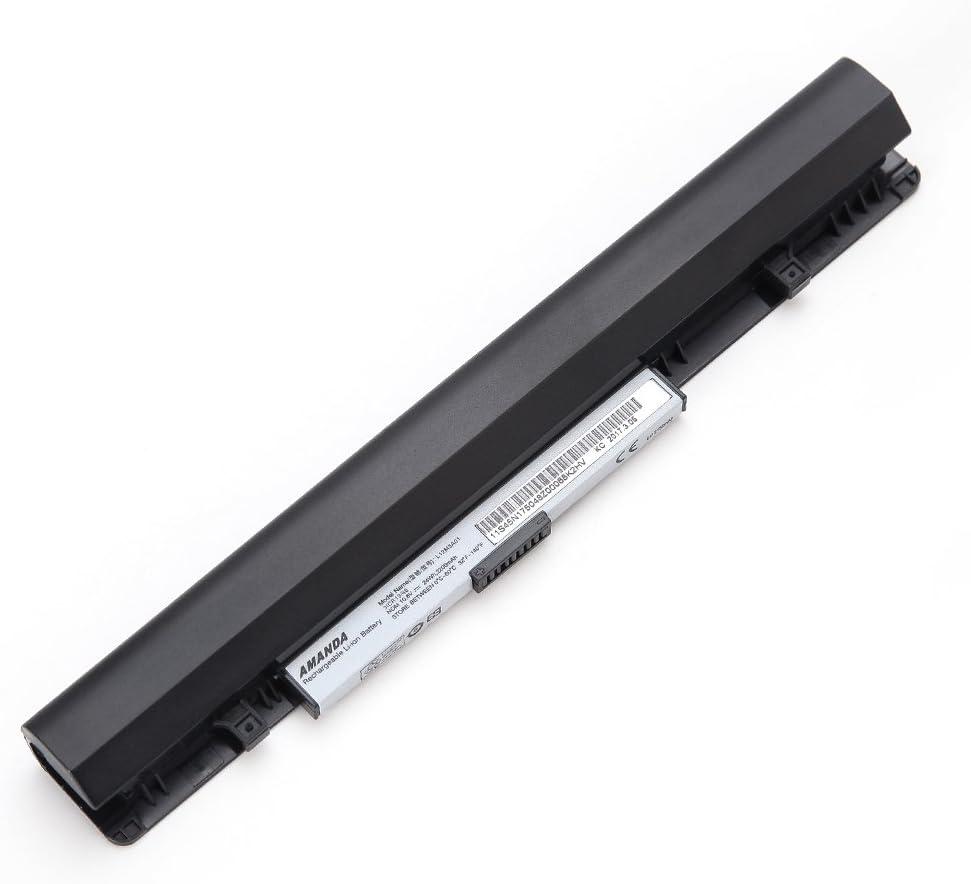 Amanda Laptop Battery Replacement for Lenovo IdeaPad S210 S215 Touch L12M3A01 L12C3A01 L12S3F01 10.8V 2200MAH/ 24WH